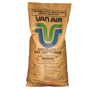 VAN AIR DRY-O-LITE DESICCANT, 33-0311, 50LB BAG, Sodium Chloride Desiccant, Compressed Air Desiccant, Natural Gas Desiccant