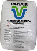 "ACTIVATED ALUMINA DESICCANT 1/8"" 50LB BAG, P/N 33-0238"