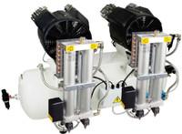 PC3x2/100, Panther Oil Free Mini Air Compressor, 26 Gallon Tank,  17.08 CFM, 220/1/60