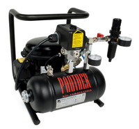 P15-TC, Panther Silent Mini Air Compressor, .93 Gallon Tank, 0.7 CFM, 115/1/60