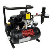 P30-TC, Panther Silent Mini Air Compressor, .93 Gallon Tank, 1.05 CFM, 115/1/60