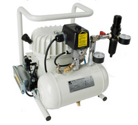 P50-TC, Panther Silent Mini Air Compressor, .93 Gallon Tank, 2.1 CFM, 115/1/60
