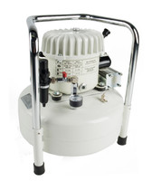 P50/24AL, Panther Silent Mini Air Compressor, 6.3 Gallon Tank, 2.1 CFM, 115/1/60