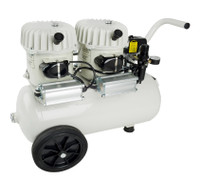 P100/24AL, Panther Silent Mini Air Compressor, 6.3 Gallon Tank, 4.2 CFM, 115/1/60