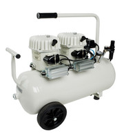 P100/50AL, Panther Silent Mini Air Compressor, 13 Gallon Tank, 4.2 CFM, 115/1/60