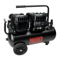 P200/50AL, Panther Silent Mini Air Compressor, 13 Gallon Tank, 8.4 CFM, 220/1/60