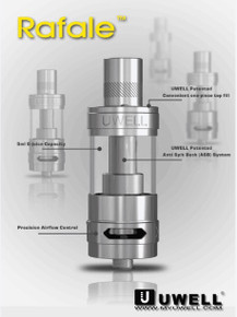 Uwell Rafale Tank Free Delivery