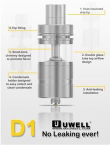Uwell D1 Sub Ohm Tank