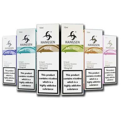 5 Hangsen 10ml E Liquids Variety Pack from the Atom Series