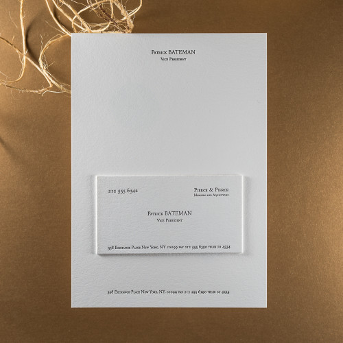 American Psycho - Notecard & Calling Card Set