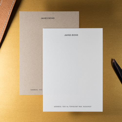The Secret Agent - 150 Notecards