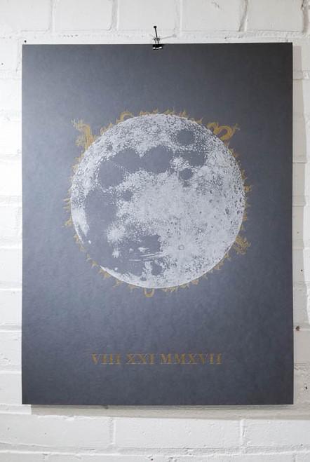 Solar Eclipse Print -18x24