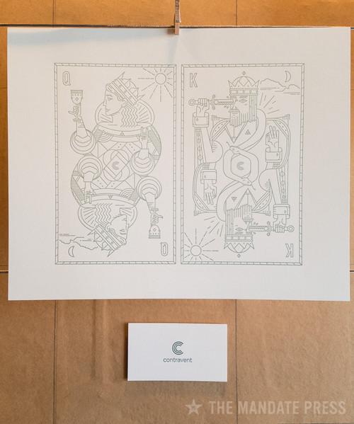 Contravent - art+work 8x10