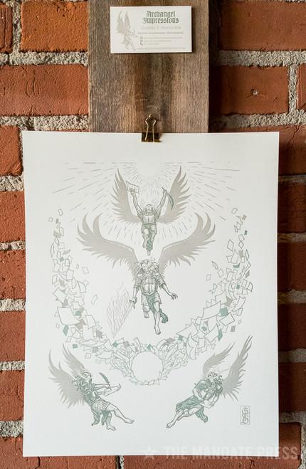 Archangel Impressions - art+work 11x14