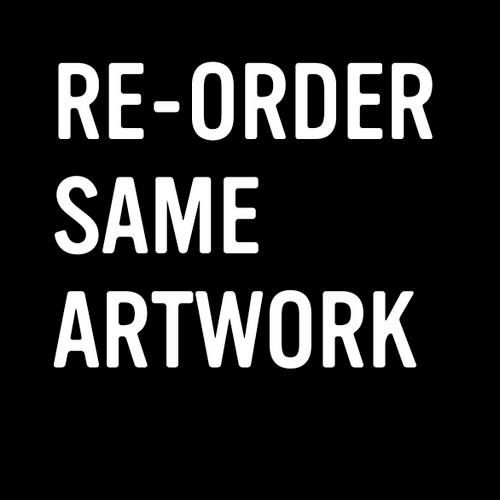 Reorder Same Artwork