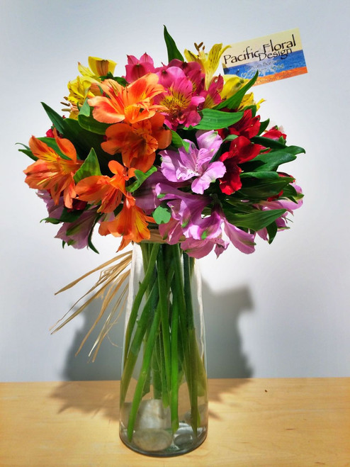 All Alstroemeria - Includes in town delivery!