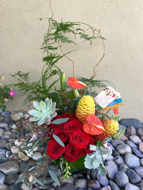 Artistic Designers Choice - With Succulent added