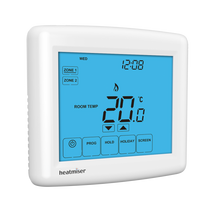 Heatmiser Touch Duo Two Zone Programmable Thermostat