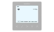 Heatmiser neoStat-hw - Hot Water Programmer Platinum Silver