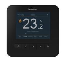 Heatmiser SmartStat WiFi Thermostat - Sapphire Black