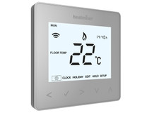 Heatmiser neoAir Programmable Thermostat - Platinum Silver