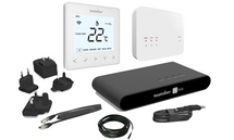 Heatmiser Smart Thermostat Kit - neoAir Kit Glacer White