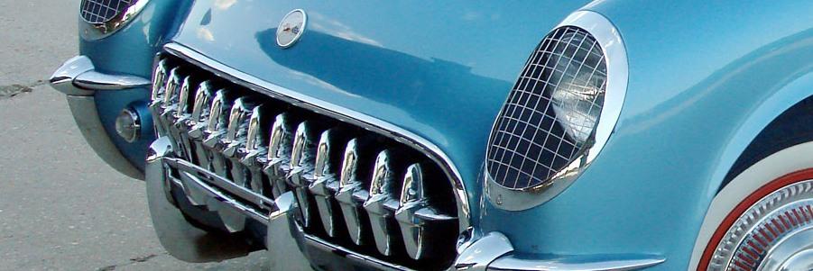 C1 Blue Corvette