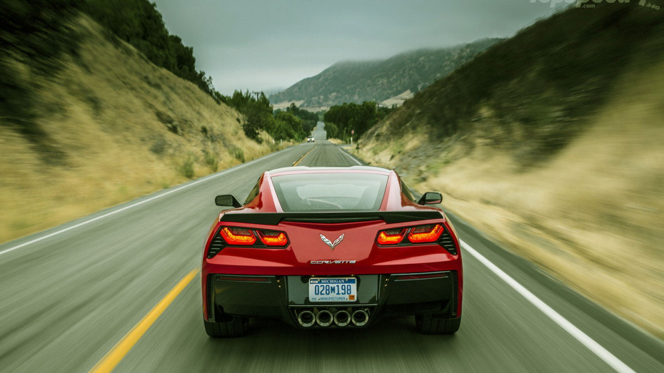 C7 Corvette Down Road