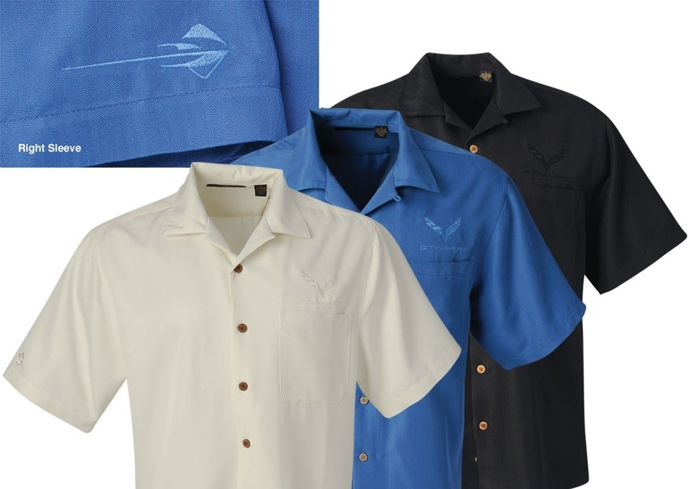 C7 Corvette Camp Shirts
