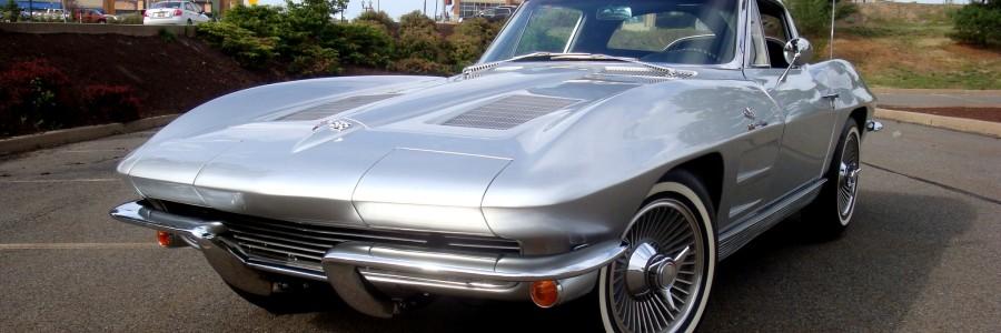 C2 Silver Corvette