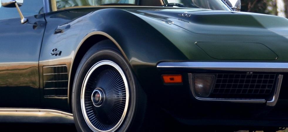 C3 Green Corvette