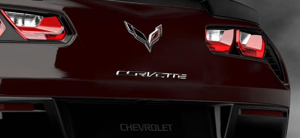C7 Red Corvette