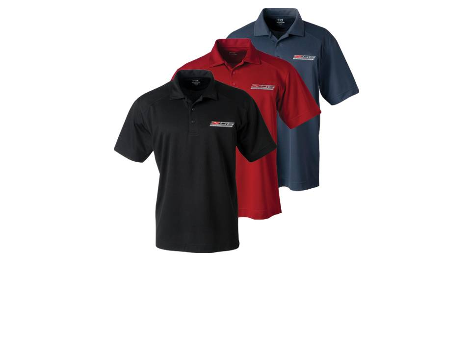 Corvette C7 Z06 Supercharged Polo Shirts