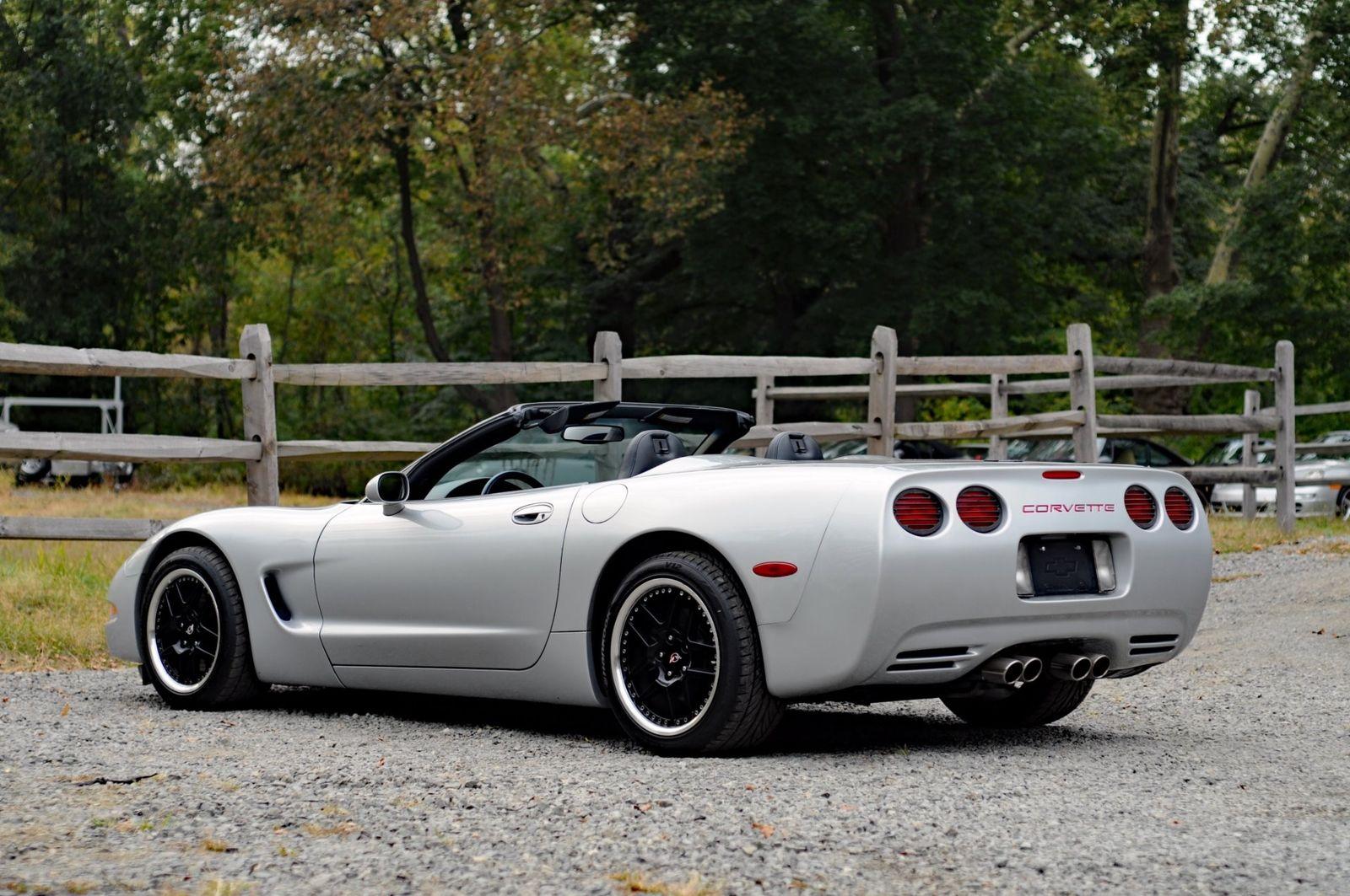 1999 C5 Corvette Sebring Silver Metallic Convertible