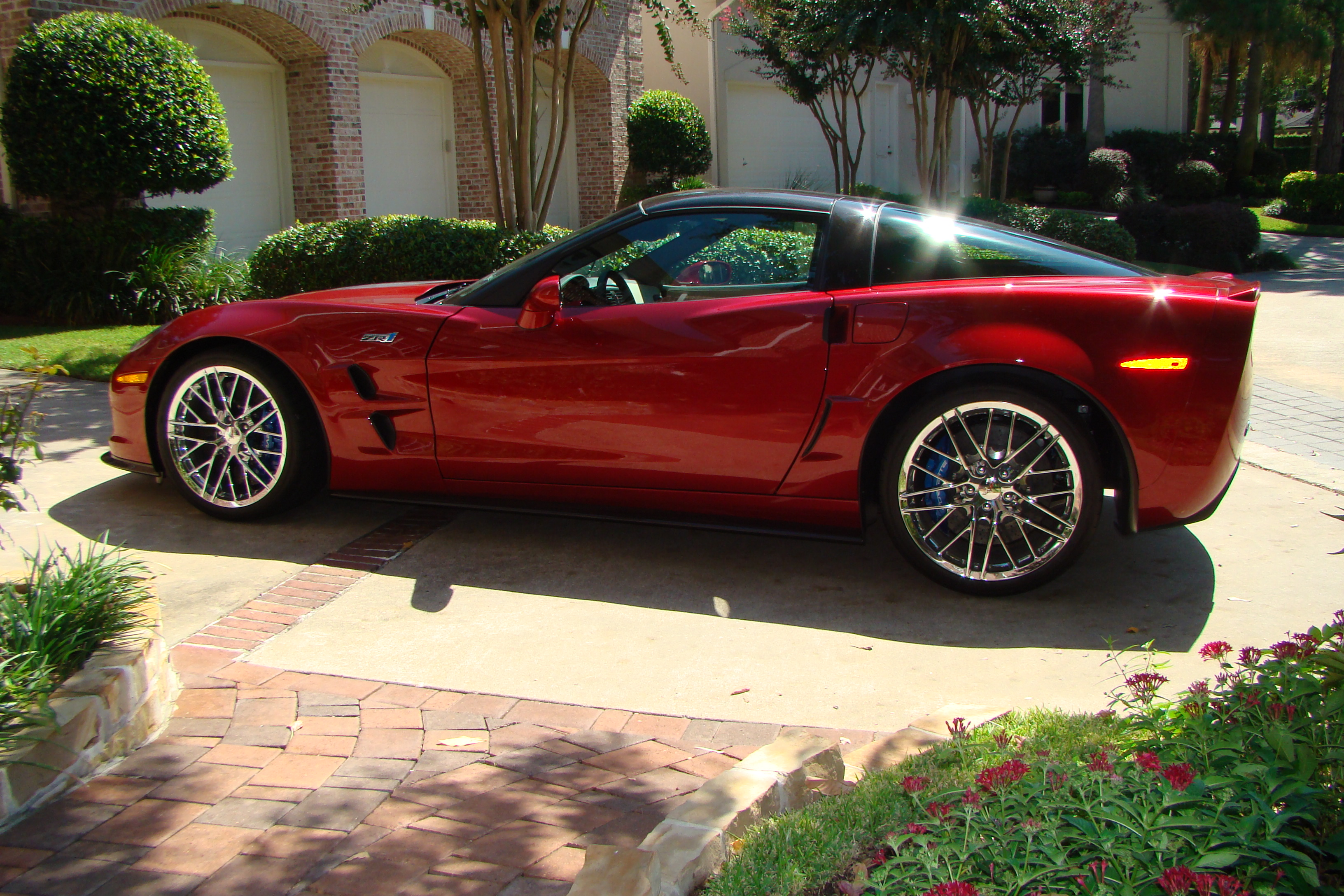 Attrayant 2011 Corvette Crystal Red ZR1   Frank S.   Houston, TX