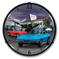 1966 C2 Corvette Clock