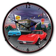 1968 C3 Corvette Clock