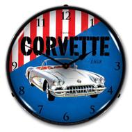 1958 C1 Corvette Clock