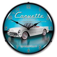 1953 C1 Corvette Clock