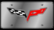 C6 Corvette License Plate