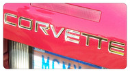 C4 Corvette Letter Kit