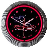 C2 Corvette Neon Clock