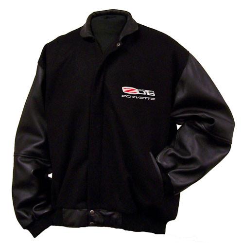 C6 Z06 Corvette Wool Varsity Jacket | Corvette Depot