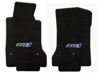 C6 ZR1 Ebony Floor Mats