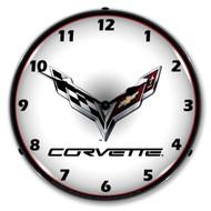 C7 Corvette Clock
