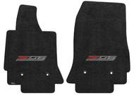C7 Z06 Corvette Ebony Floor Mats