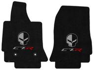 C7.R Corvette Jake Skull Jet Floor Mats