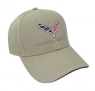 C7 Corvette Khaki Hat
