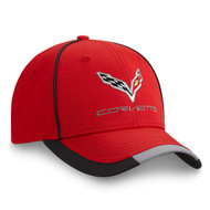 C7 Corvette Red Performance Hat