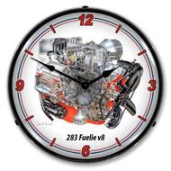 283 V8 Fuelie Clock